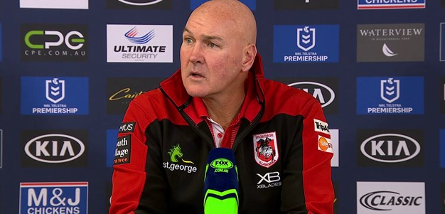Dragons press conference: Round 13