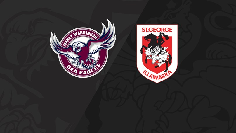 Full Match Replay: Sea Eagles v Dragons - Round 14, 2019
