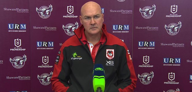 Dragons press conference: Round 14