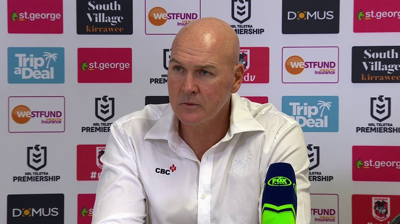 Dragons press conference: Round 15