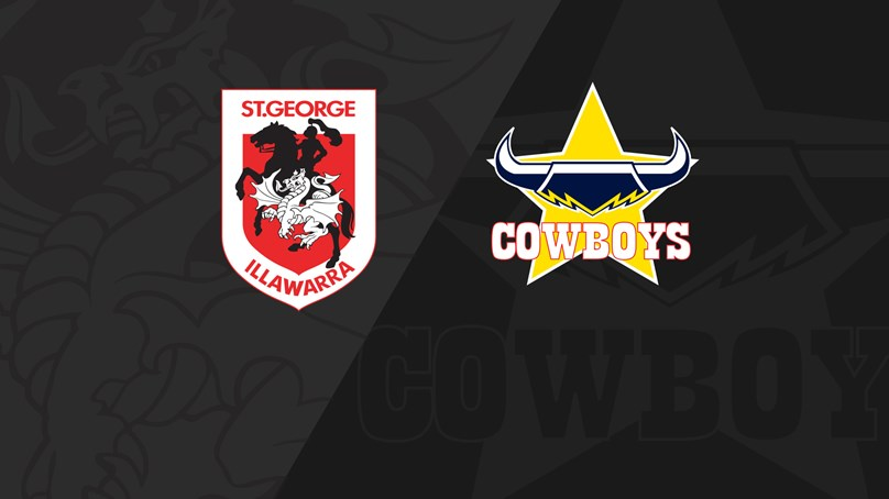 Full Match Replay: Dragons v Cowboys - Round 15, 2019