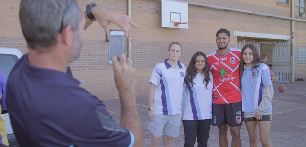 NRL teams with Defence Force to help indigenous youth