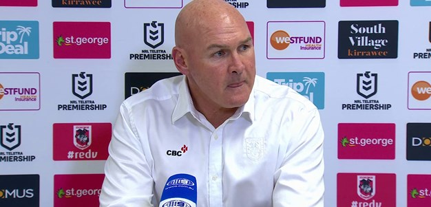 Dragons press conference: Round 16 v Storm