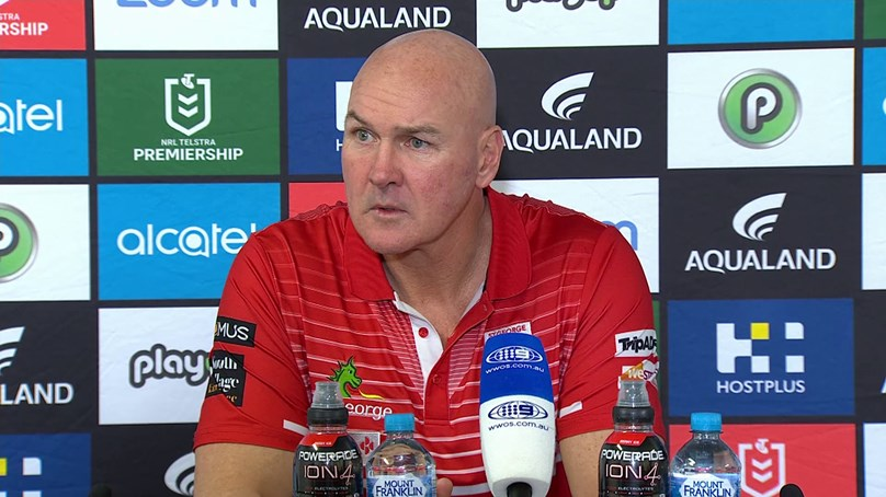 Dragons press conference: Round 19 v Rabbitohs