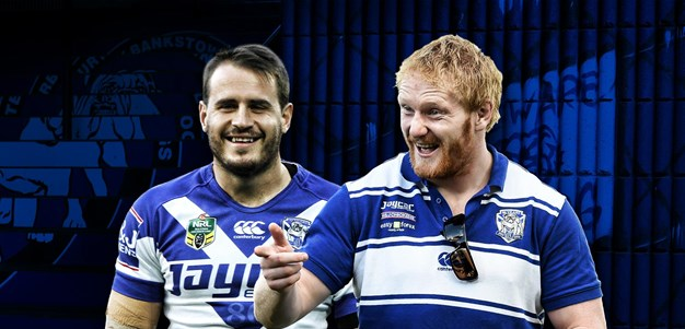 The odd couple: Reynolds and James Graham