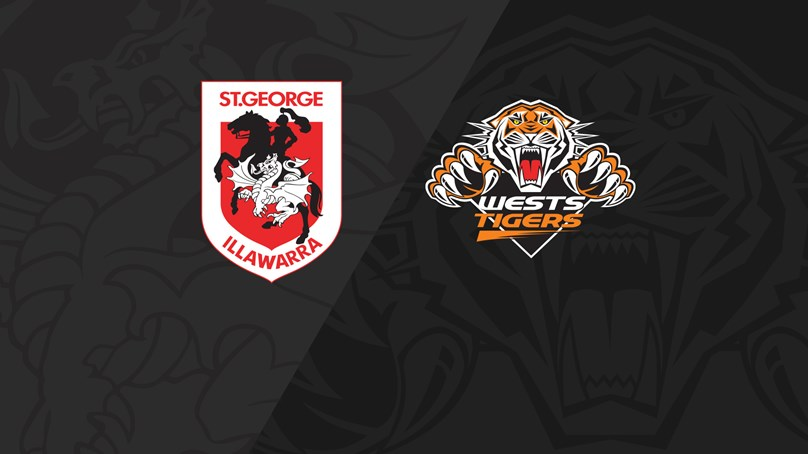 Full Match Replay: Dragons v Wests Tigers - Round 24, 2019