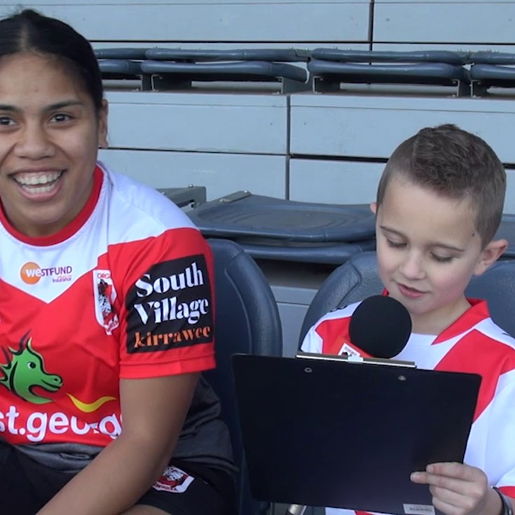 Junior reporters: Women's Premiership edition