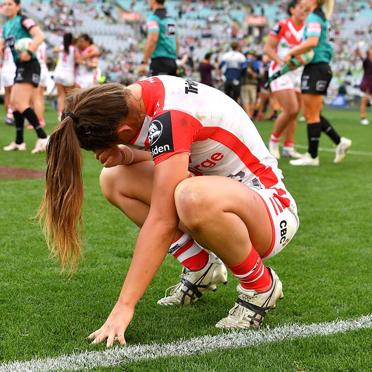 Dragons NRLW stars shattered