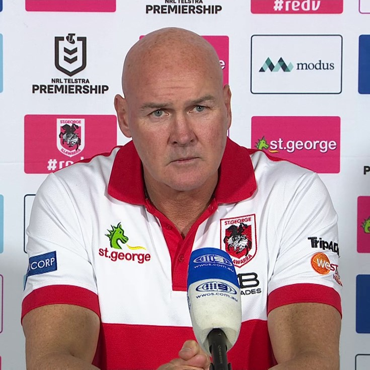 Dragons press conference: Round 5