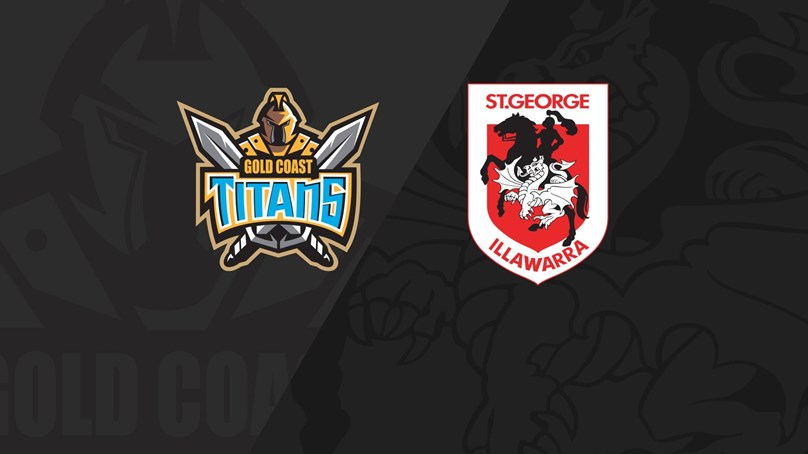 Full Match Replay: Titans v Dragons - Round 6, 2020