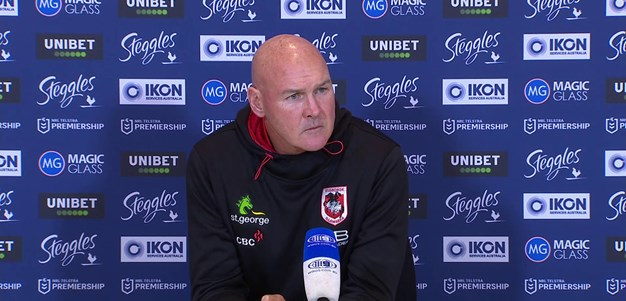 Dragons press conference: Round 7