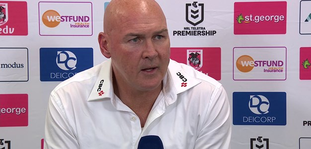 Dragons press conference: Round 9