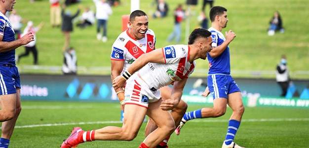 Re-live the final minutes of Dragons-Bulldogs