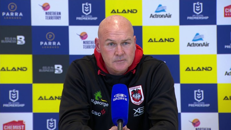 Dragons press conference: Round 14 v Eels