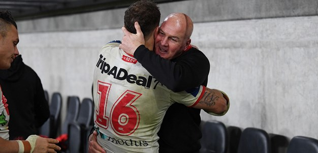 McGregor reflects on emotional farewell