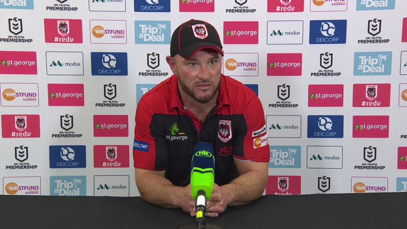 Dragons press conference: Round 16 v Titans
