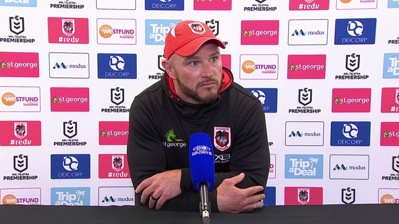 Dragons press conference: Round 20
