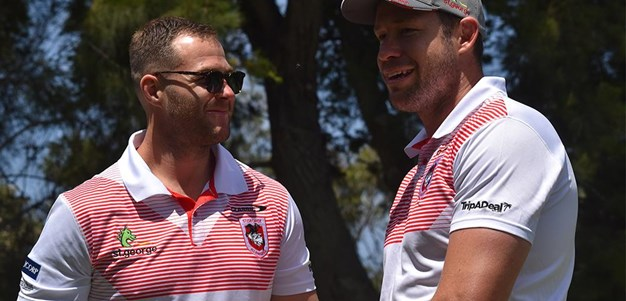 Robert Stone memorial golf day with Trent Merrin