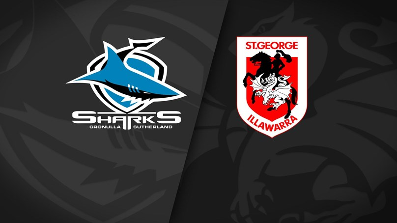 Full Match Replay: Sharks v Dragons - Round 1, 2021