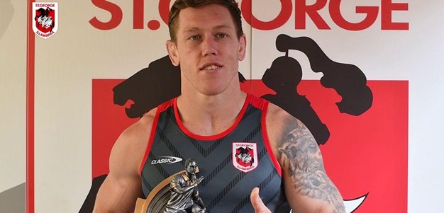 Clune, McInnes accept Queensland Supporter Club awards