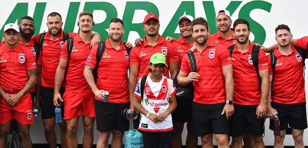 Armani's day out with the Dragons