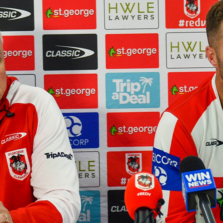 Press conference: Trent Merrin and Anthony Griffin