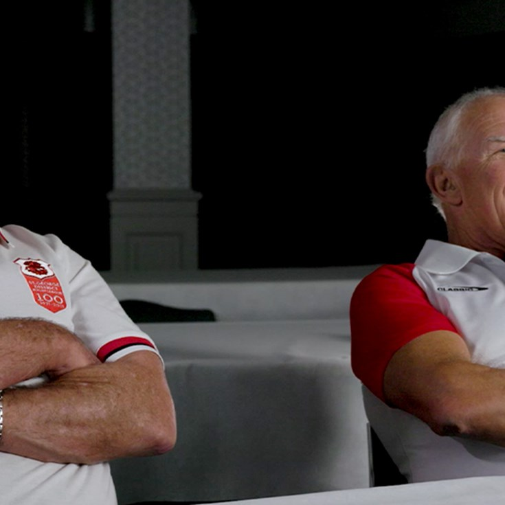 Craig Young and Steve Edge relive St George's  1979 grand final win