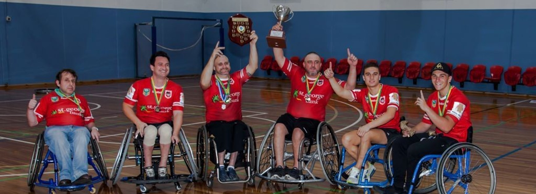 Dragons Win NSW Wheelchair Rugby League Title