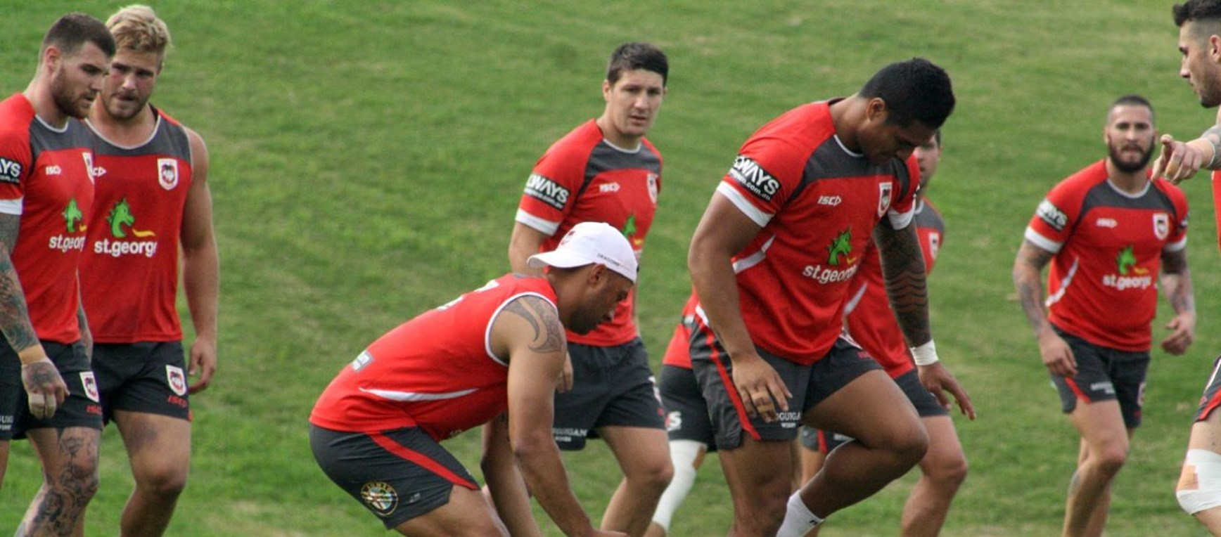 Dragons Prepare For Rabbitohs