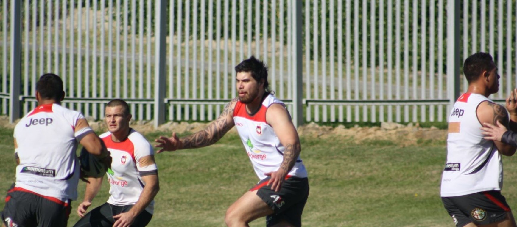 Dragons Prepare For Cowboys