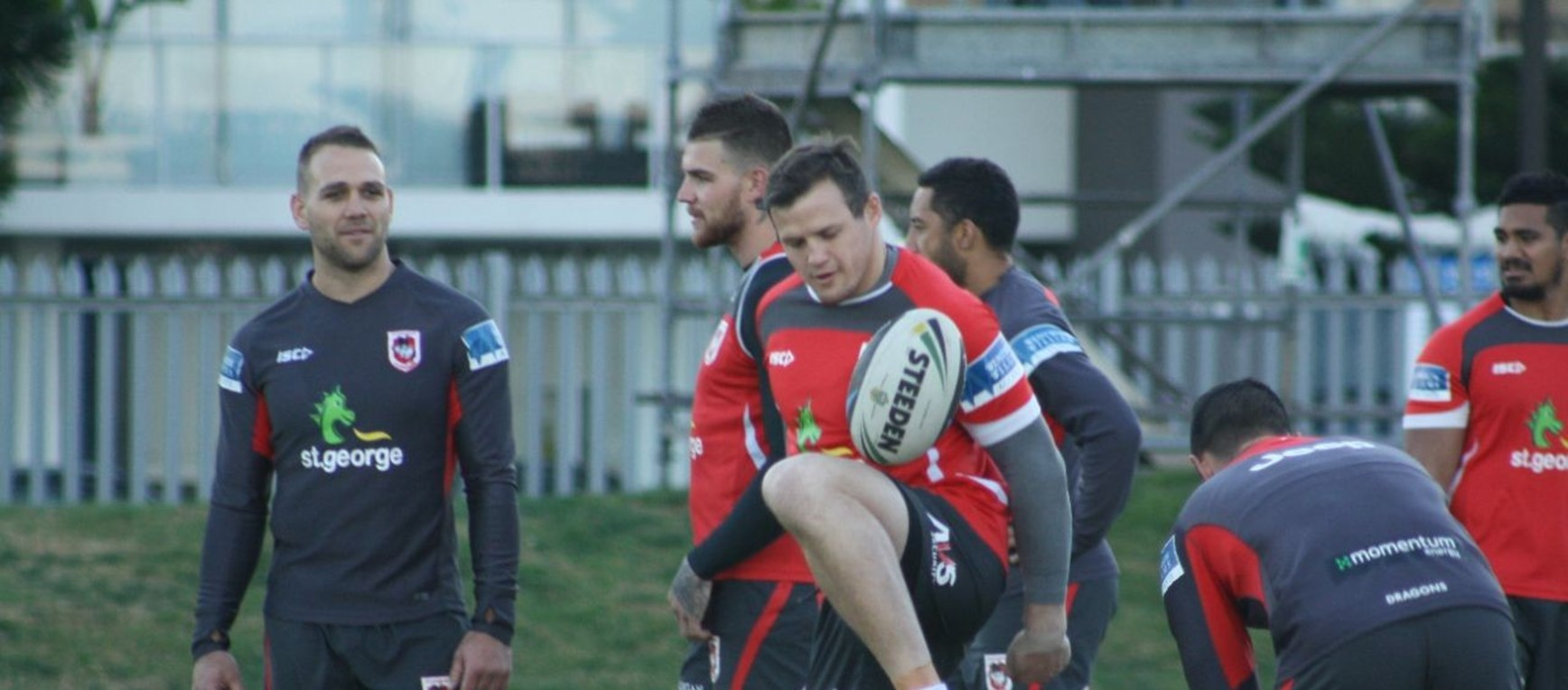 Dragons Prepare For Panthers