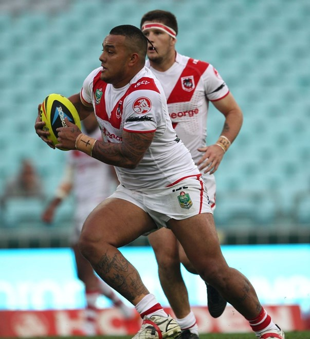 Photo by Colin Whelan copyright © nrlphotos.com :  NYC Holden Cup  Rugby League, Elimination Semi Final St George Illawarra Dragons v Brisbane Broncos at Sydney Olympic Stadium, Friday September 26th 2014.