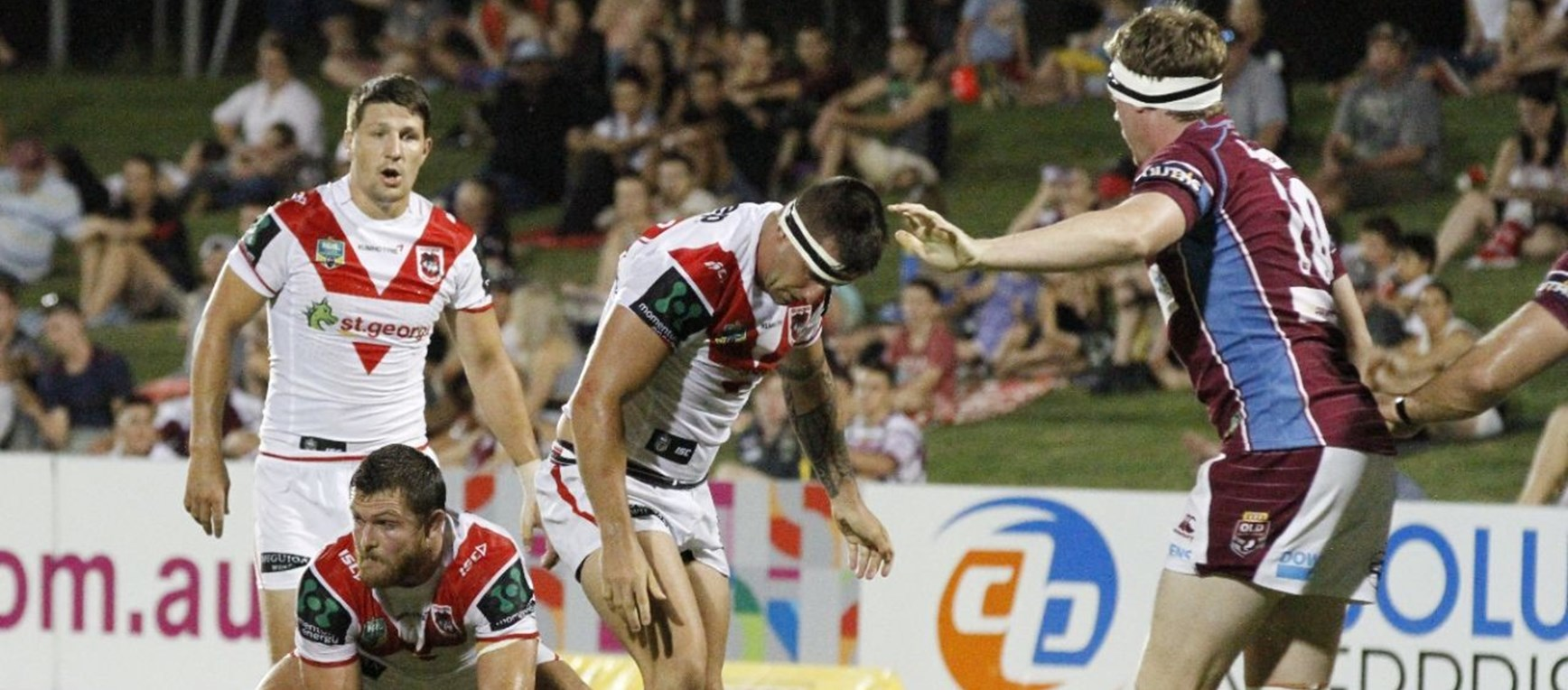 Gallery: Trial v Mackay Cutters
