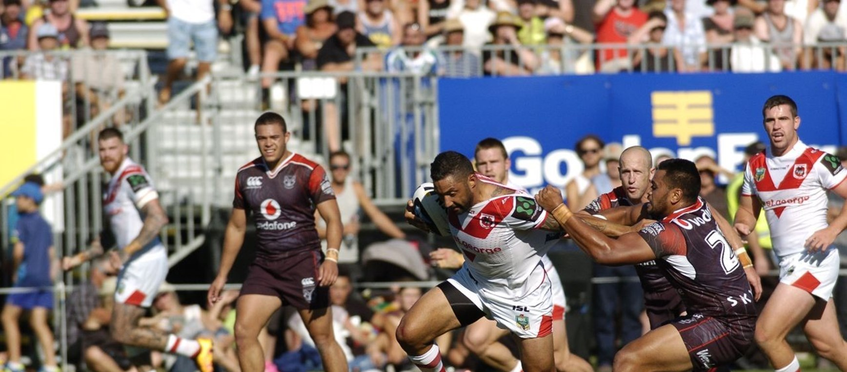 Gallery: Trial v New Zealand Warriors