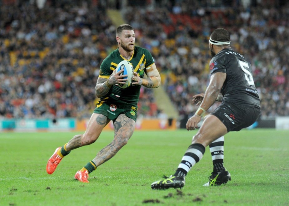 : Digital Image by Scott Davis : NRL Photos : ARL Representitive Rugby League : Australia V New Zealand at Suncorp Stadium; Brisbane; May 3rd 2015.