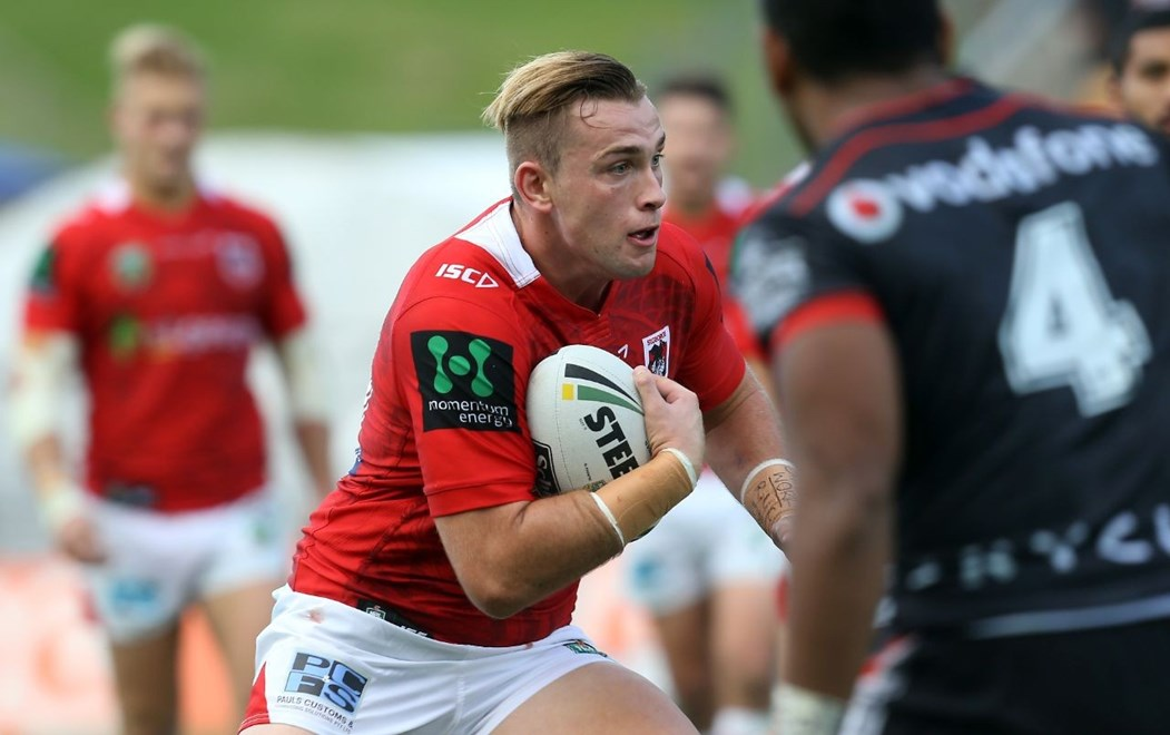 Competition - NRL Premiership Round - Round 09 Teams – NZ Warriors v St George Illawarra Dragons Date – 1st of May 2016 Venue – Mt Smart Stadium, Auckland, NZ Photographer – Shane Wenzlick