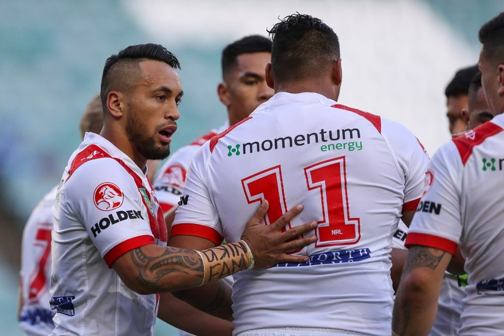 Competition - NYC Finals. Round - Preliminary Final. Teams - St George Illawarra Dragons v Sydney Roosters. Date - 23rd September 2016. Venue - Allianz Stadium, Moore Park, NSW. Photographer - Paul Barkley | NRL Photos