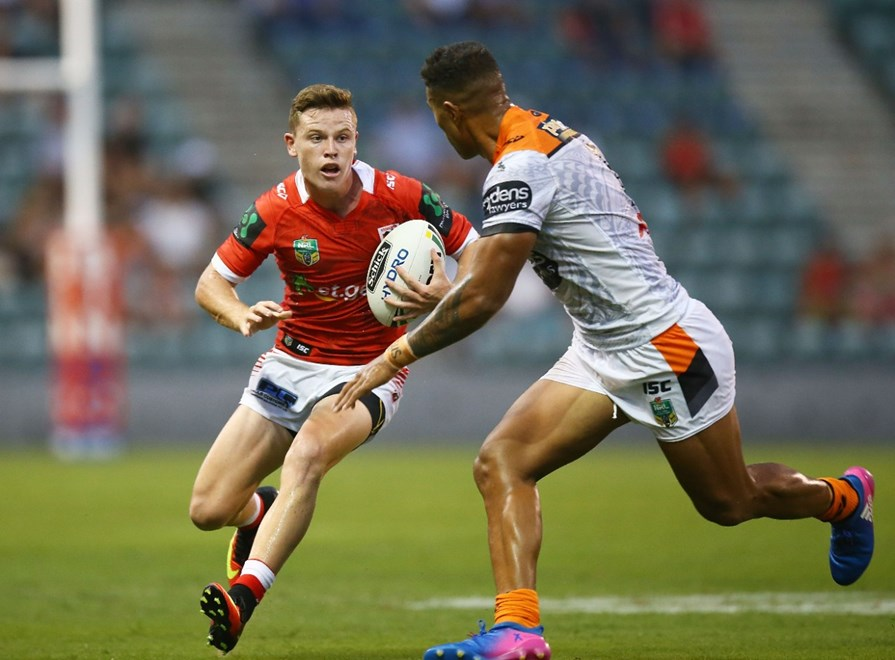 Competition - NRL Round - Trials Teams – Dragons V Tigers Date – 11th of February 2017 Venue – WIN Stadium