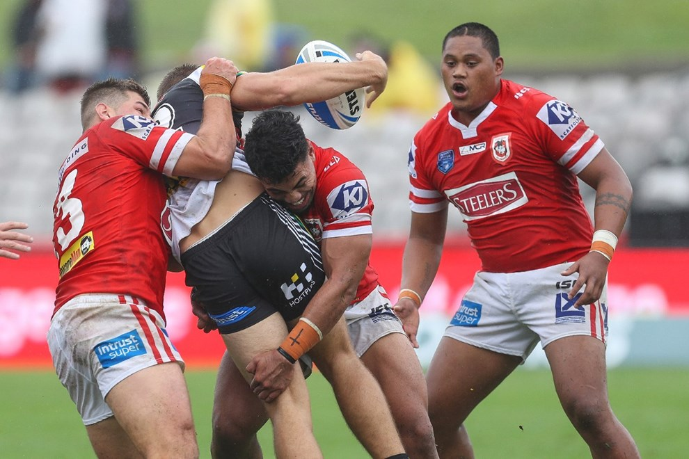Competition - NRL. Round - Round 1. Teams - St. George Dragons v Penrith Panthers. Date - 4th of March 2017. Venue - UOW Jubilee Oval