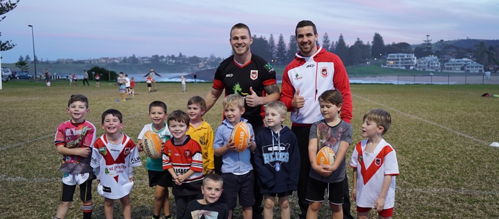 Dragons head 'Back 2 Juniors' in Illawarra