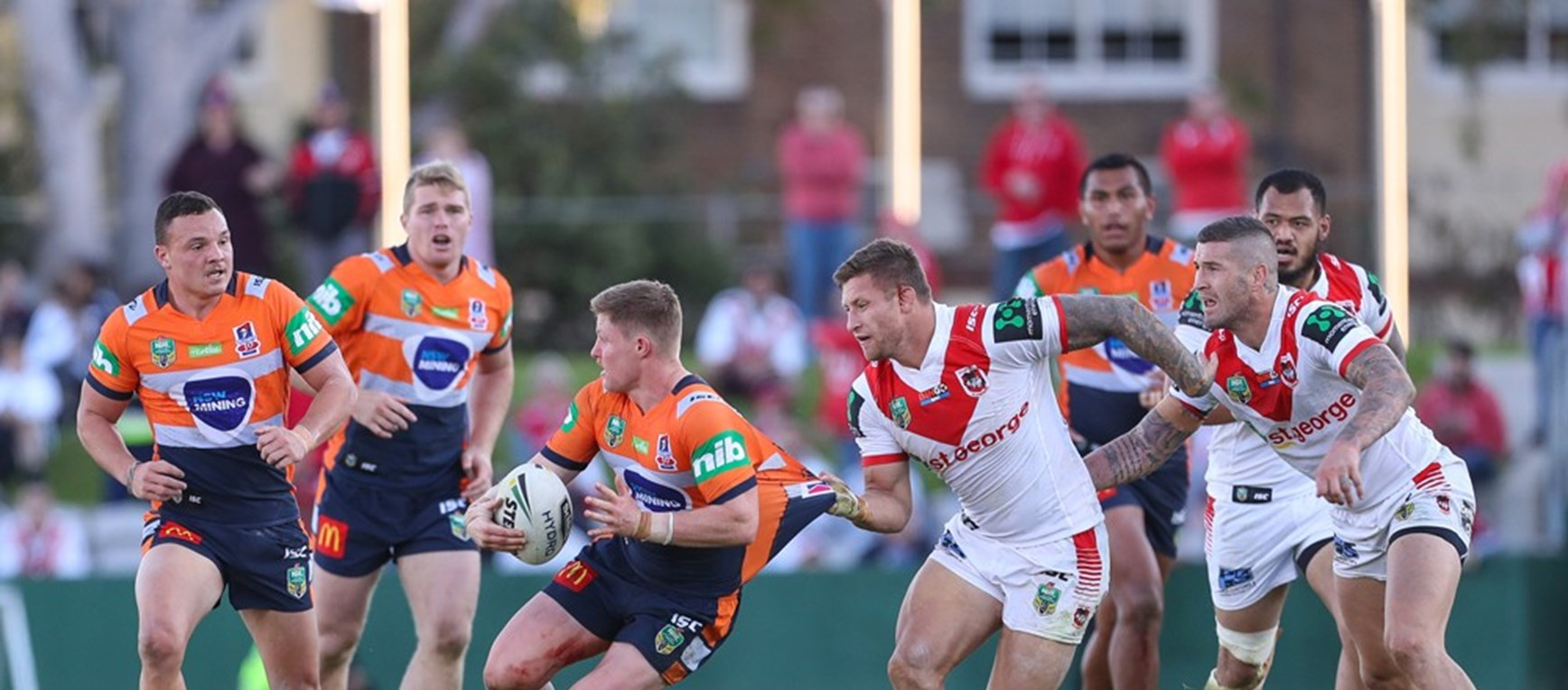 Photo Gallery: Round 16 v Knights