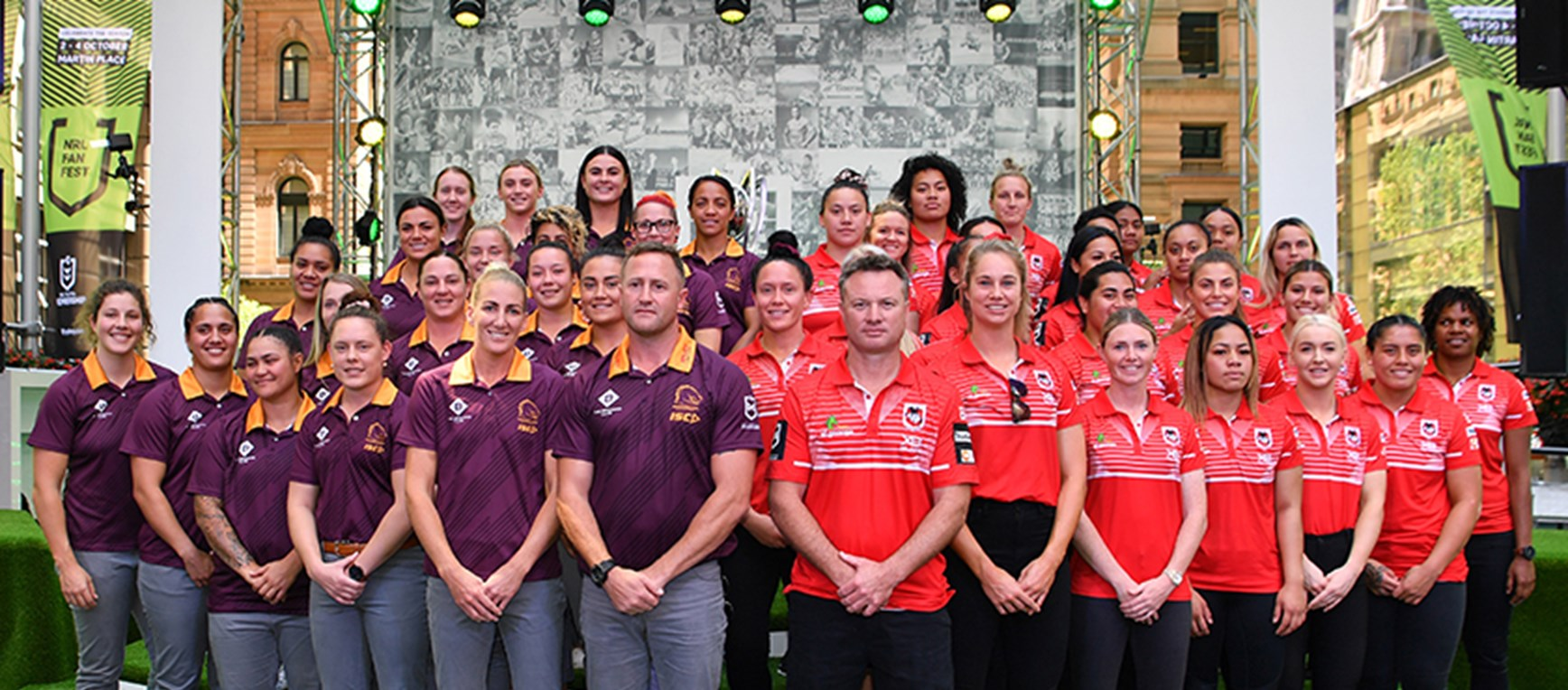 NRLW grand final clash at Fan Fest