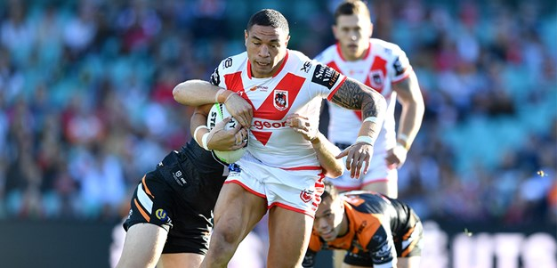 Dragons fall against terrific Tigers