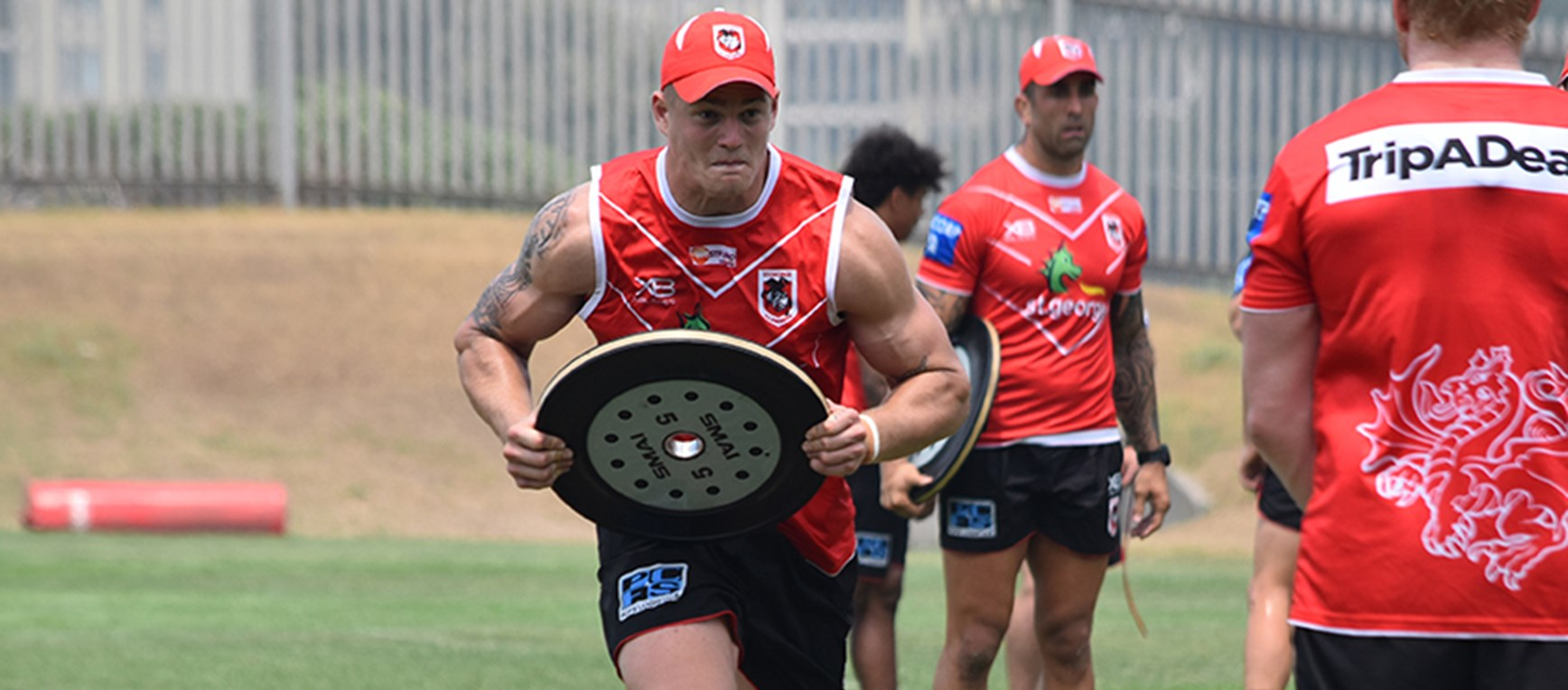 Training gallery: Pre-season week 7